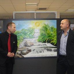 Bank Austria Filiale Alterlaa - Vernissage Werner Szendi