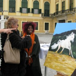 Africa Amini Alama - Wien Schönbrunn - Werner Szendi - Jenny Bell