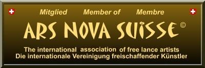 Logo Ars Nova Suisse - Werner Szendi