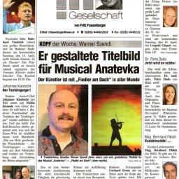 Anatevka Musical Kittsee - Werner Szendi