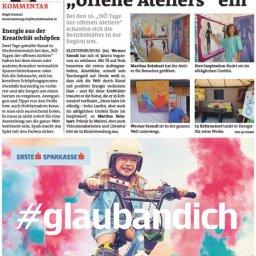 Tag der offenen Ateliers NÖ - Kritzendorf - Bezirksblätter Klosterneuburg - Werner Szendi