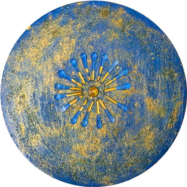 Blauer Stern - Blue Star