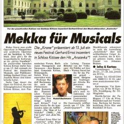 Fiedler am Dach - Musica - Kittsee - Kronen-Zeitung - Werner Szendi