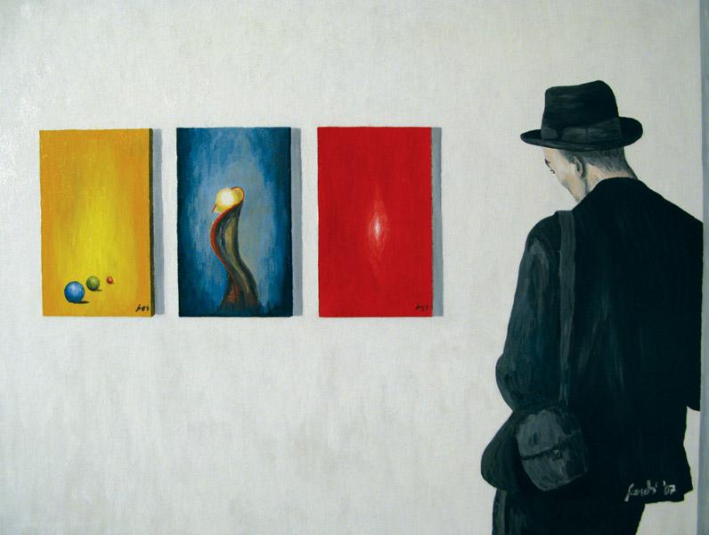 Der Kunstkritiker - The art critic