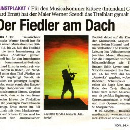 Fiedler am Dach - Kittsee - Musical - Werner Szendi